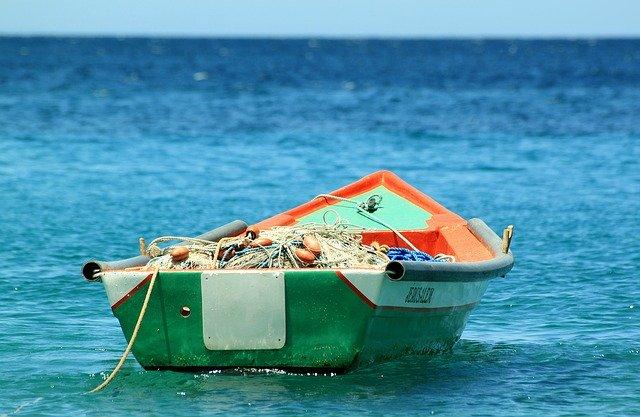 с лодка за риба